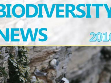 Biodiversity News - Issue 73 (Summer 2016)