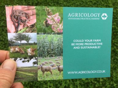 Agricology postcard